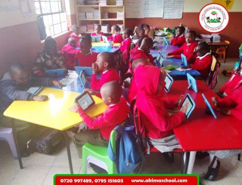 Digital learning at Akima School